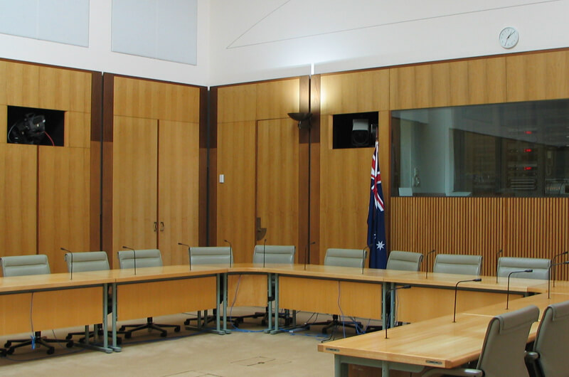Law court representing legal industry facilities management